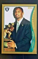 1998 Topps CHARLES WOODSON RC ROOKIE CARD FUTURE HOF #356 MINT! L@@K! 🔥🔥🔥🔥🔥