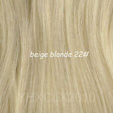 Full Head One Piece Clip In Remy Human Hair Extensions & Hair pieces 30inch 200g