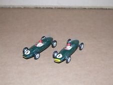 Solido 116 Cooper F1 Racing Car Pair