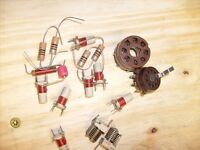 trim pots and small coils and parts  from crystal radio shop   /r15