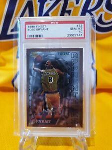 Kobe Bryant Rookie card PSA 10