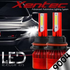 XENTEC LED HID Headlight Conversion kit 9004 HB1 6000K 1995-2002 Dodge Ram 4000