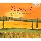 Paganini: Complete Guitar Music, Luigi Attademo CD | 5028421943480 | New