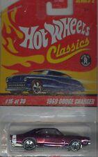 Hot Wheels Classics Series 2  #16 1969 Dodge Charger - Purple
