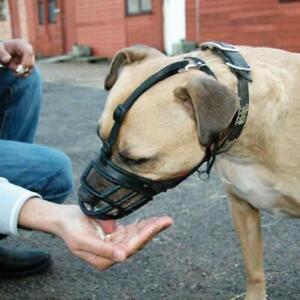 Baskerville Dog Ultra Muzzle Safe & Comfortable Soft Plastic Black Sizes 1 - 6