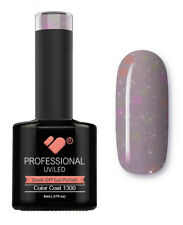 1300 VB Line Yogurt Purple Neon Glitter - gel nail polish - super gel polish