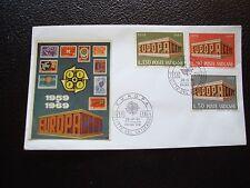 VATICAN - enveloppe 1er jour 28/4/1969 (europa) (cy97)