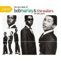 "BOB MARLEY & THE WAILERS ""PLAYLIST THE VERY BEST OF"" CD"