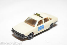 HERPA OPEL AUDI 100 GL 5E AVANT PIZZERIA ROMA TAXI CREAM EXCELLENT CONDITION