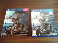 PlayStation 4 ps4 Monster Hunter Mondo Scatola e Cofanetto LENTICOLARE 3d nessun gioco