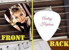 Audrey Hepburn Breakfast at Tiffany's Set of 3 premium Promo Guitar Pick Pic