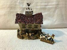 Boyds Bear Bearly Built Villages The Moosteins Dairy Barn Village Figurine 19050