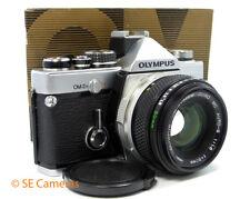 OLYMPUS OM-2n 35MM SLR CAMERA + OM ZUIKO 50MM F1.8 LENS *EXCELLENT*