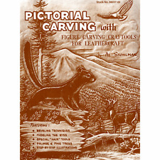 Pictorial Carving Book Al Stohlman 66037-00 by Tandy Leather
