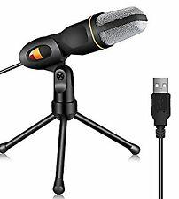 Tonor Professionnel USB Microphone à Condensateur Studio Podcast.