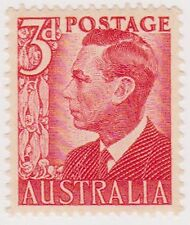 (OR-118) 1950 AU 3d red KGVI MUH SG235 (F)