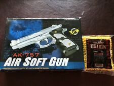 airsoft gun pistol AK757 With 1000 Airsoft Rounds