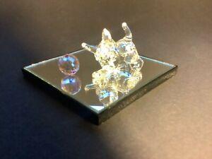 Swarovski Kitten and Ball + Mirror