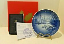Bing & Grondahl Annual Christmas Plate 2020 , Rosenborg Castle