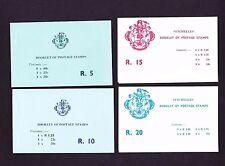SEYCHELLES 1979-1980 BOOKLETS SB1-SB8.