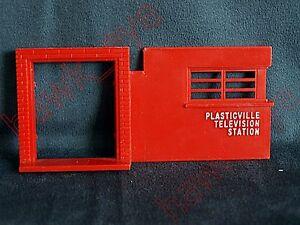 Plasticville Radio Station Front Entrance HTF O-S Scale
