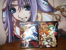 Tears to Tiara Part(vol) 1,2(One,Two) Complete Collection BRAND NEW - DVD Anime