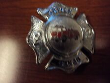 Vintage Selfridge Air National Gaurd Base Fire Department Hat Badge (Michigan)
