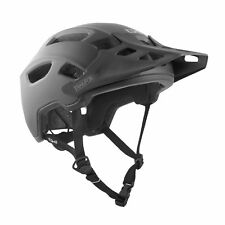 TSG TRAILFOX ENDURO MTB HELMET SATIN BLACK LARGE /X-LARGE (57-59cm) 75070-55-172