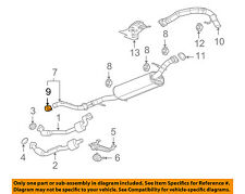 Hummer GM OEM 09-10 H3T 5.3L-V8 Exhaust-Muffler & Pipe Clamp 15103174
