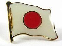 Japan Flaggen Pin Anstecker,1,5 cm,Neu mit Druckverschluss