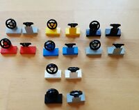 Lego 73081 3829 Lenkrad Steuerrad mit Konsole Lenkrad viele Farben Auswahl 69