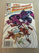 West Coast Avengers # 19 Fair Condition Marvel Comic Water Damage