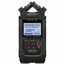 Zoom H4n Pro Portable Handy Recorder - Black