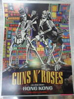 Guns N'Roses Lithograph Nov 20, 2018 HONG KONG Hong Kong Limited 150 sheets New