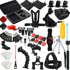 59Ppcs Camera Accessories Bundle Wrist Strap Kit For Gopro Hero 6 5 4 3 3+