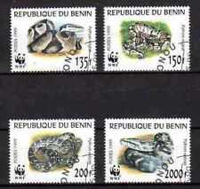 Bénin 1999 Serpents (40) Yvert n° 898 à 901 oblitéré used