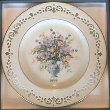 Lenox 1999 Colonial Bouquet Annual Plate - Ct - Mint