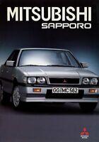 Mitsubishi Sapporo Prospekt 1987 11/87 Broschüre prospectus prospetto brochure