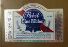 VINTAGE AMERICAN BEER LABEL - PABST BREWERY, BLUE RIBBON BEER 12 FL OZ #8