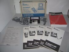 Rare Original Texas Instruments TI-Graph Link Cable And Software Ti-82-83-85-92