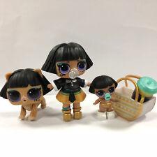 Pharaoh Dolls Babe Big & Lil Pharaoh Sister & Ancient Meow Pet Series 3 Toy Gift