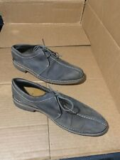 """$298! Cole Haan Mens Grey Leather """"Distressed Look Style"""" Oxford Shoes Size 11.5"""