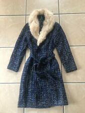 Ladies Boucle Coat with Faux Fur Detachable Collar BNWT from FeverRRP£150.