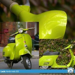 Vespa 0,5l Lack Max Meyer verde mela 302 V50 1.Serie 50n 50s 50l PV (1l=70€)