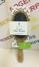 Beauty By Earth Detangling Healthy Hair Brush 100% Bamboo Green Eco Friendly