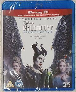 Maleficent Mistress Of Evil - 3D & 2D Blu Ray (2 Discs) - Region B