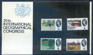 The Great Britain 1964 Geographical Congress presentation pack (2020/07/19/#02)