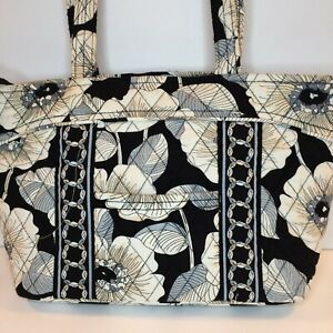 Vera Bradley CAMELLIA pattern Little Mandy Shoulder Tote Bag  HTF