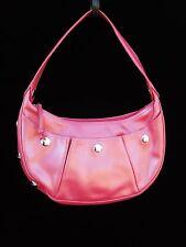 LONGCHAMP sac à main cuir rose nacré, série Galatée