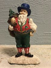 """1996 May Department Stores Co Santas From Around The World """"Austrian Santa"""""""